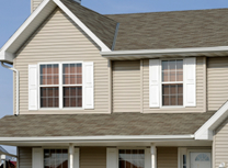 Vinyl siding, eavestrough, fascia, soffit installation and replacement in Brampton, Markham and Oshawa.